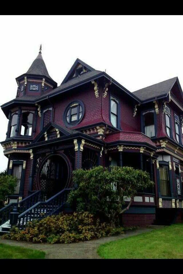 Victorian gothic home.