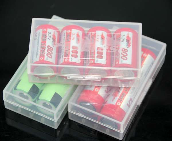 Show details for Rechargeable Battery Plastic Safety Box