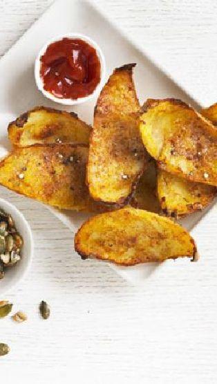 Low FODMAP and Gluten Free Recipe - Parmesan potato skins