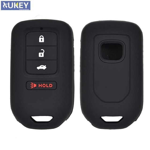 4 Button Silicone Car Remote Key Fob Pocket Cover Case For Honda Accord Ex Exl Civic Crv Crz Hrv Pilot Ridgeline 2016 2017 2018 Review Honda Accord Ex Honda Accord Fob Pocket