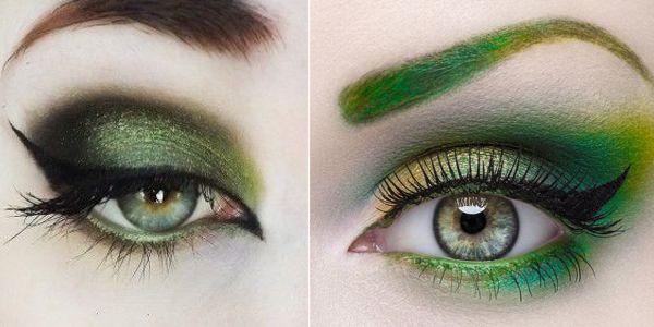 Ιδέες μακιγιάζ σε πράσινες αποχρώσεις!