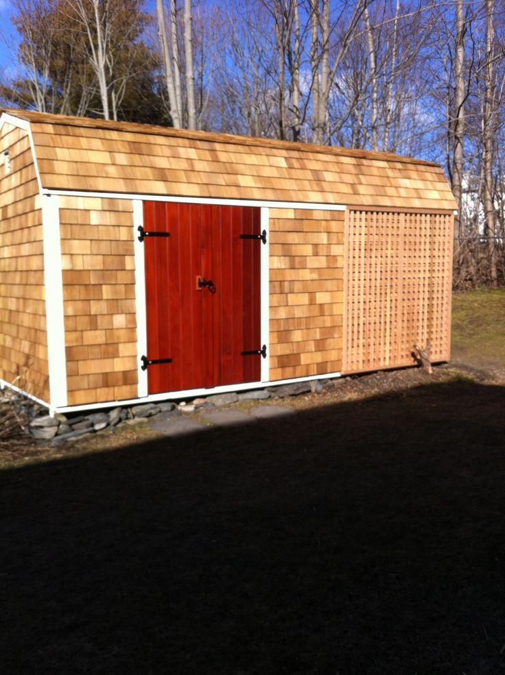 Best Cedar Shingle Cladding Inspiration For A Shed Builder Pinterest 400 x 300