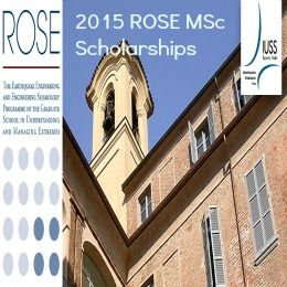 2015 ROSE MSc Scholarships in Earthquake Engineering and Engineering Seismology, Italy , and applications are submitted till May 18, 2015. UME Graduate School of the IUSS Pavia is offering MSc scholarships in Earthquake Engineering and Engineering Seismology programme. - See more at: http://www.scholarshipsbar.com/2015-rose-msc-scholarships.html#sthash.81oXmtx8.dpuf