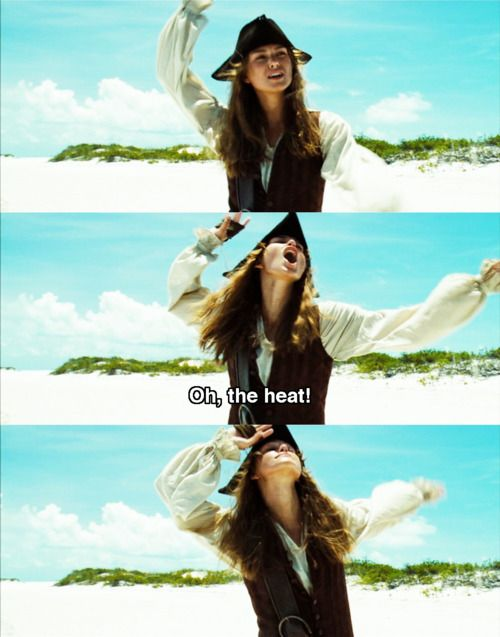Pirates of the Caribbean: Dead Man's Chest. My favorite Pirates movie and especially one of my favorite scenes!(: