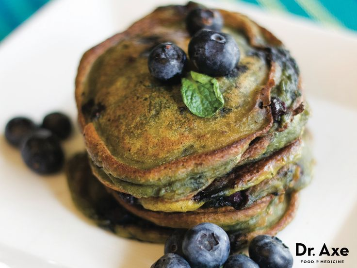 This pumpkin-blueberry pancakes recipe is a favorite by all who try it. It's gluten-free, qualifies as a high-protein food and is delicious.