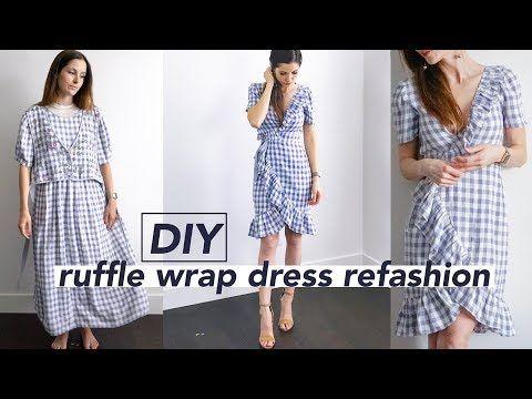 Cotton Curls Umzugestalten Kleid Umgestaltete Kleidung Diy Kleid