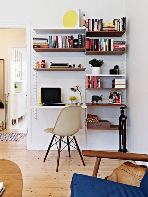 Corner of a small flat.
