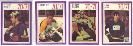1970's Hockey Cards: 1970-71 Esso NHL Power Players