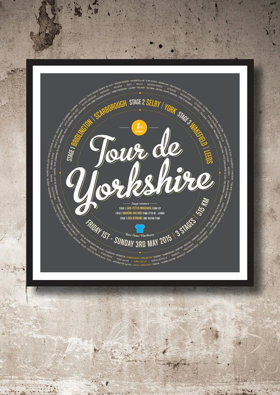 Tour de Yorkshire by Lemaillot on Etsy