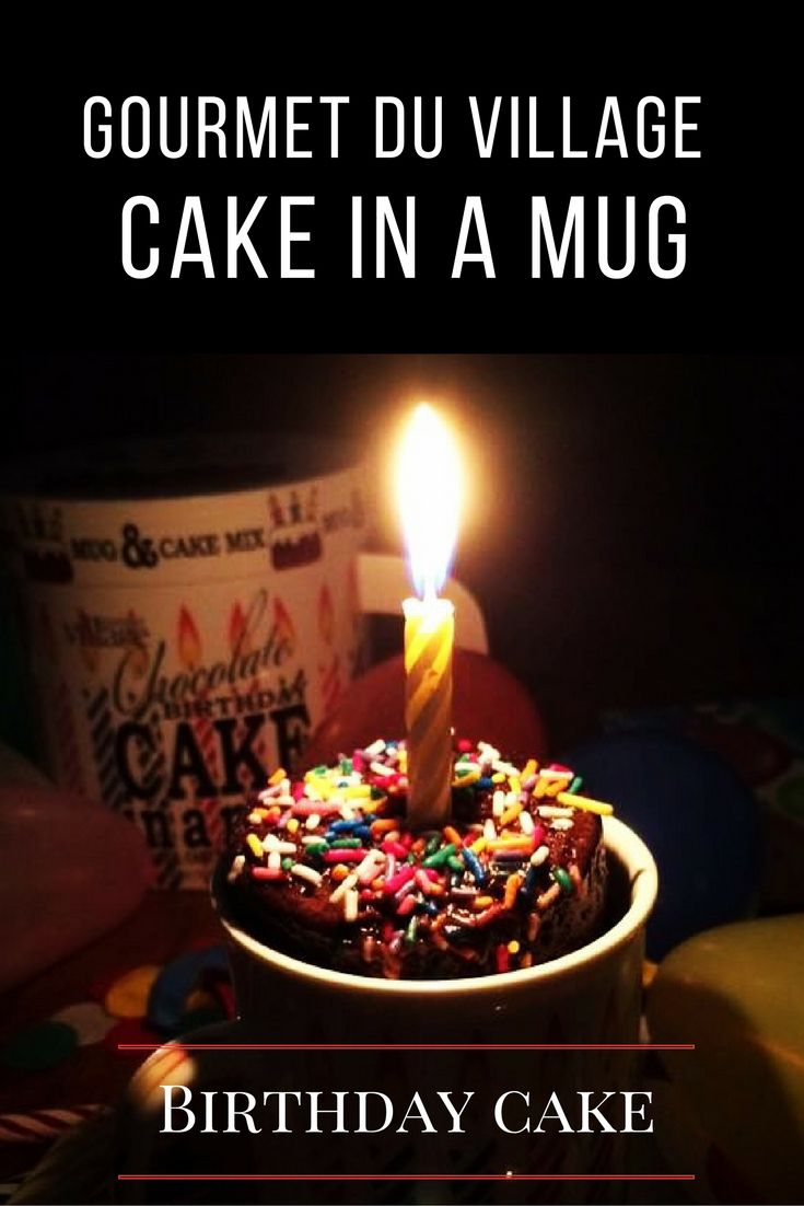 #1 best seller this year. Cake in a mug Birthday Cake. We make it easy to make Homemade. So easy to make mix ingredients add an egg a little oil, a little water bake in the Microwave for approx 1 minute, serve and share