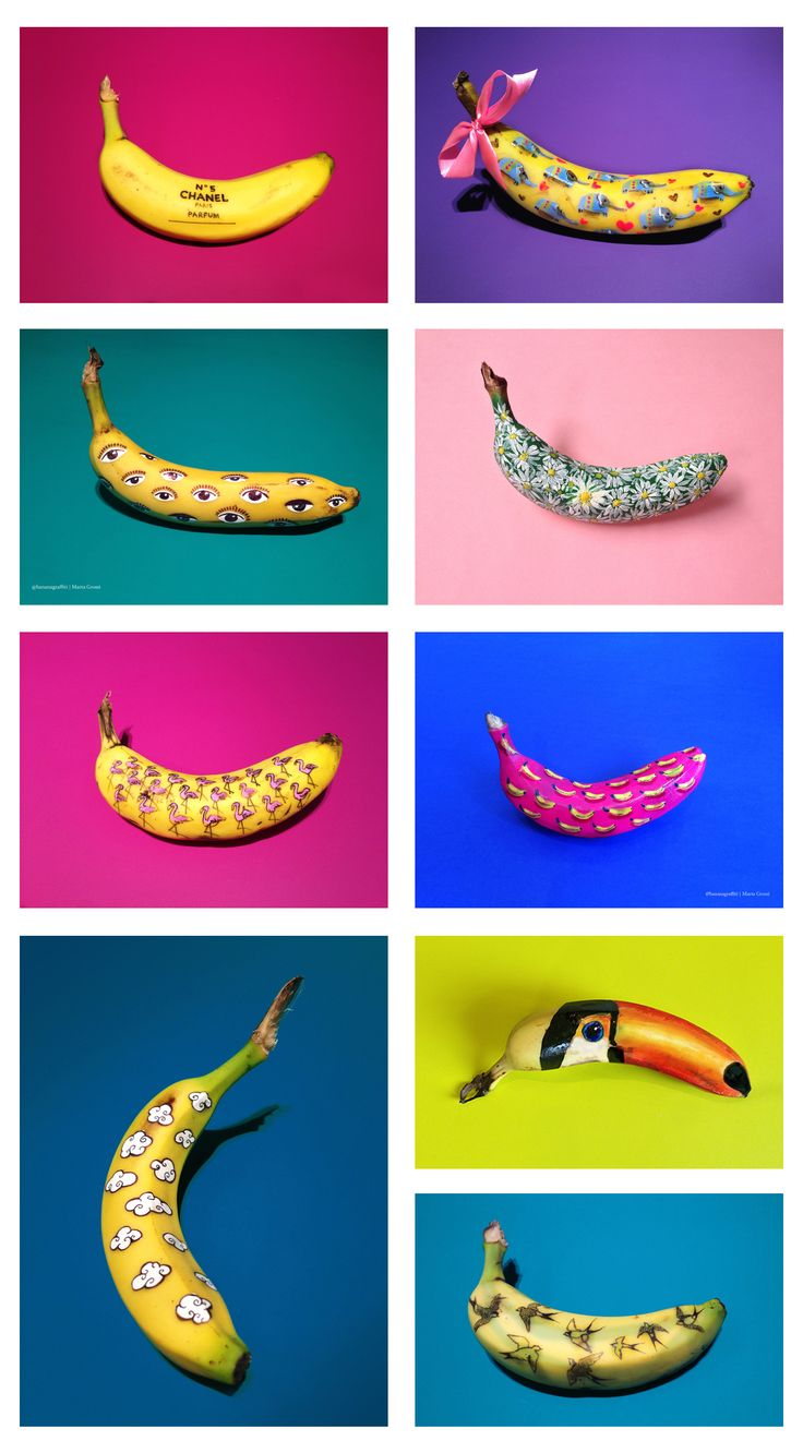 Banana Graffiti - Marta Grossi