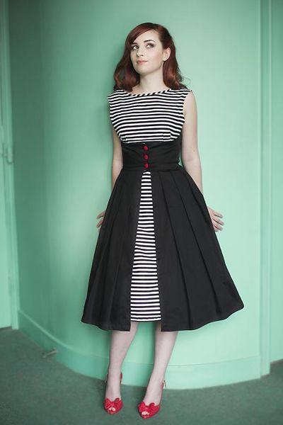 "Miss Lulu - ""Walk-away"" dress $219.99. I'll fight you for it, @Laura Moore Hale"