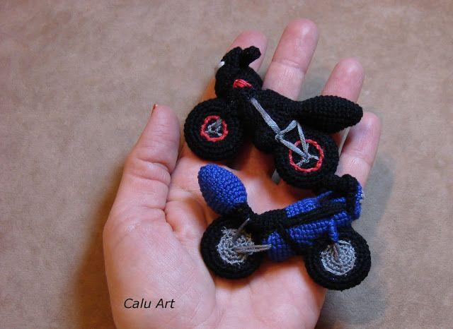 Calu Art: Miniaturyzacja motocykli