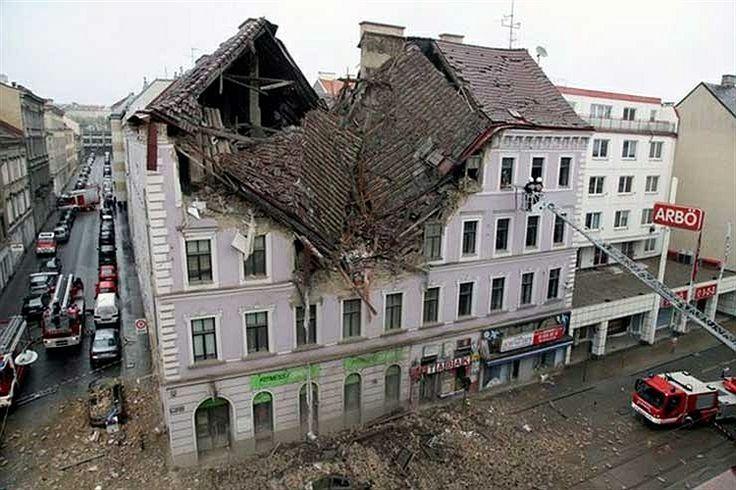 انفجار گاز در یك ساختمان مسكونی در شهر وین پایتخت اتریش منجر به مرگ یك نفر و مفقودالاثر شدن فرد دیگر شد. در ضمن 13 نفر نیز در این حادثه مجروح شدند.