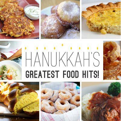 Hanukkah's Greatest Food Hits