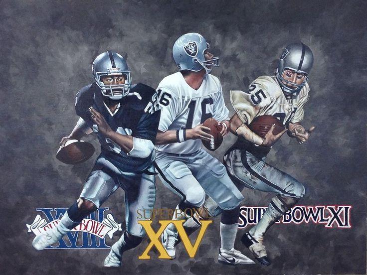 Oakland Raiders - Super Bowl MVP's - Dan Stromme