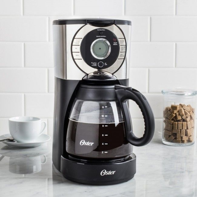 Oster Coffee Maker Set Time : 17 Best images about Gifts for the Coffee Lover on Pinterest Dishwashers, Stainless steel and ...