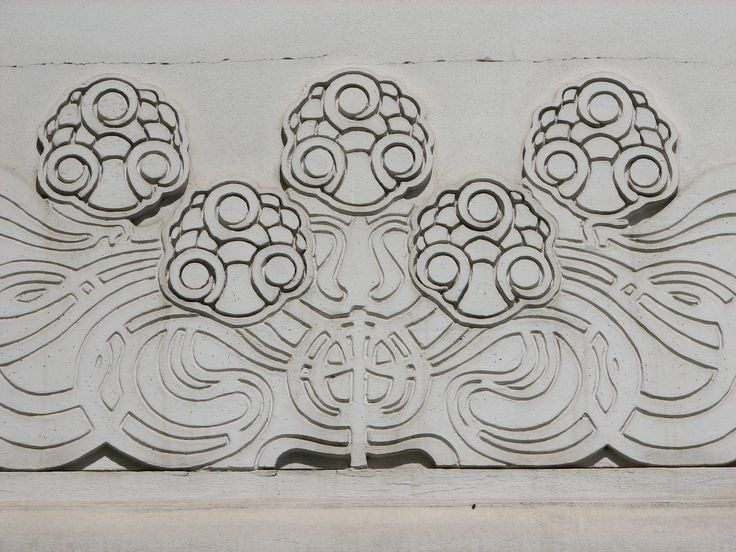 Secession Flowers   On the Succession Building, Vienna