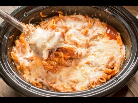 Slow Cooker Chicken Parmesan and Pasta - The Magical Slow Cooker
