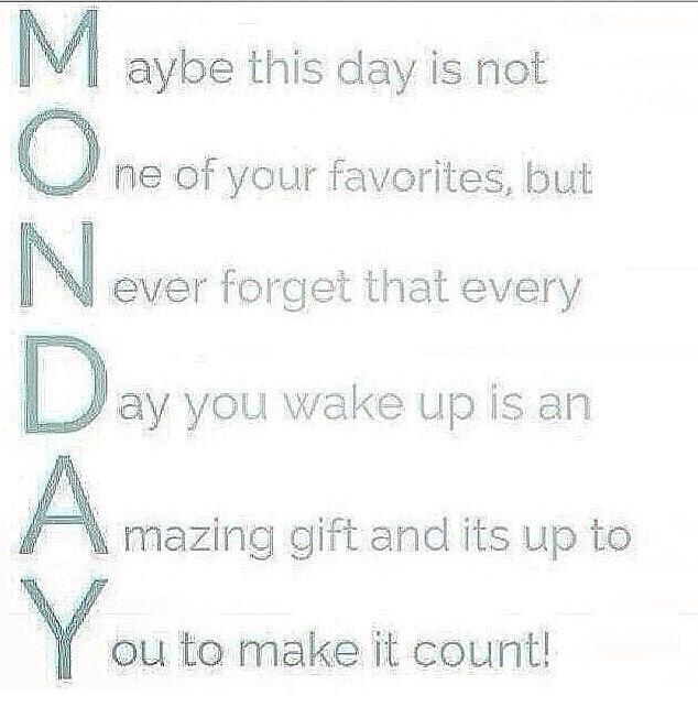 Welcome to MONDAY smile emoticon! TGIM! #MondayMotivation #monday #mondaymorning