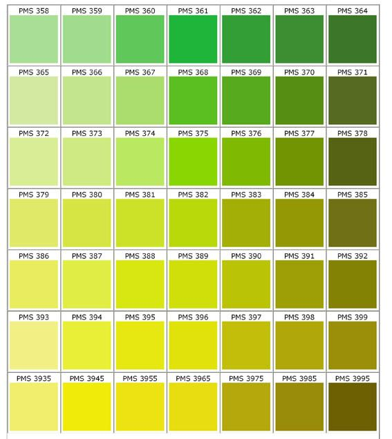 Pantone is a pretty good match for the green