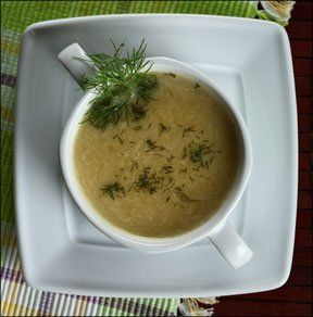 Apple Fennel Soup - Recipes Article
