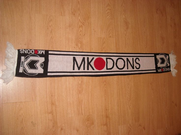 MK Dons Scarf You can Buy It from www.ScarvesForSale.eu