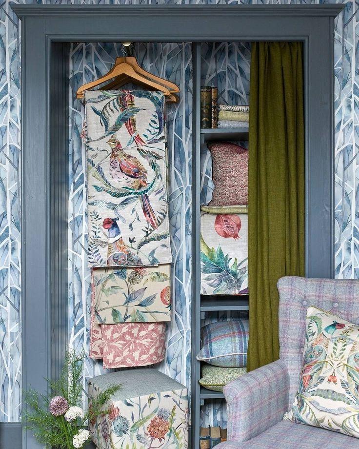 #ткани из коллекций @voyage_deco сделают вашу жизнь ярче Заказать можно в #Galleria_Arben #fabric #voyagedeco #interior #decoration #gnbws