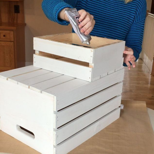 diy pet steps, chalk paint, home decor, painted furniture, painting, stairs