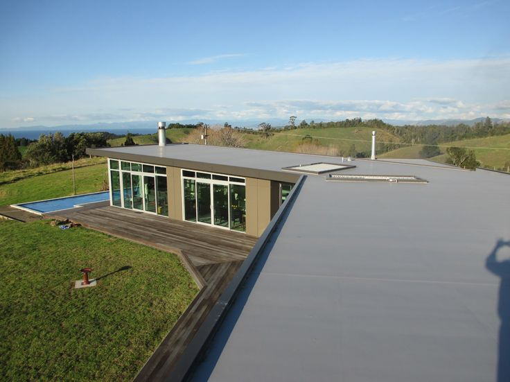 A Stunning example of Vikings WarmSpan system   WarmSpan systems deliver vital energy savings by insulating the building for New Zealand seasons. Also the enviroclad deflects the sun radiation creating further energy savings.