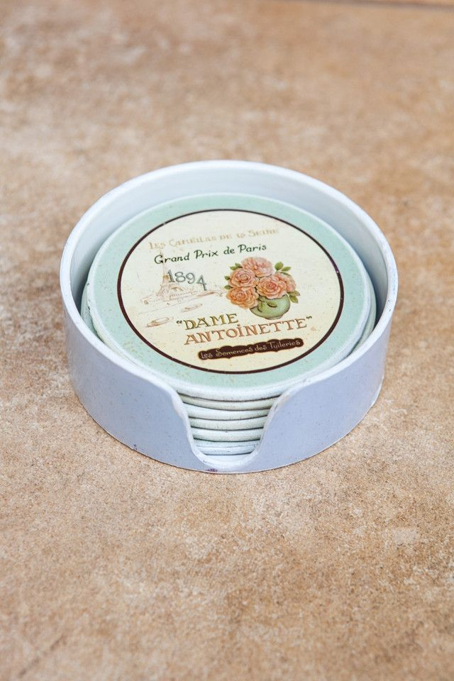 Dame Antoinette Coasters