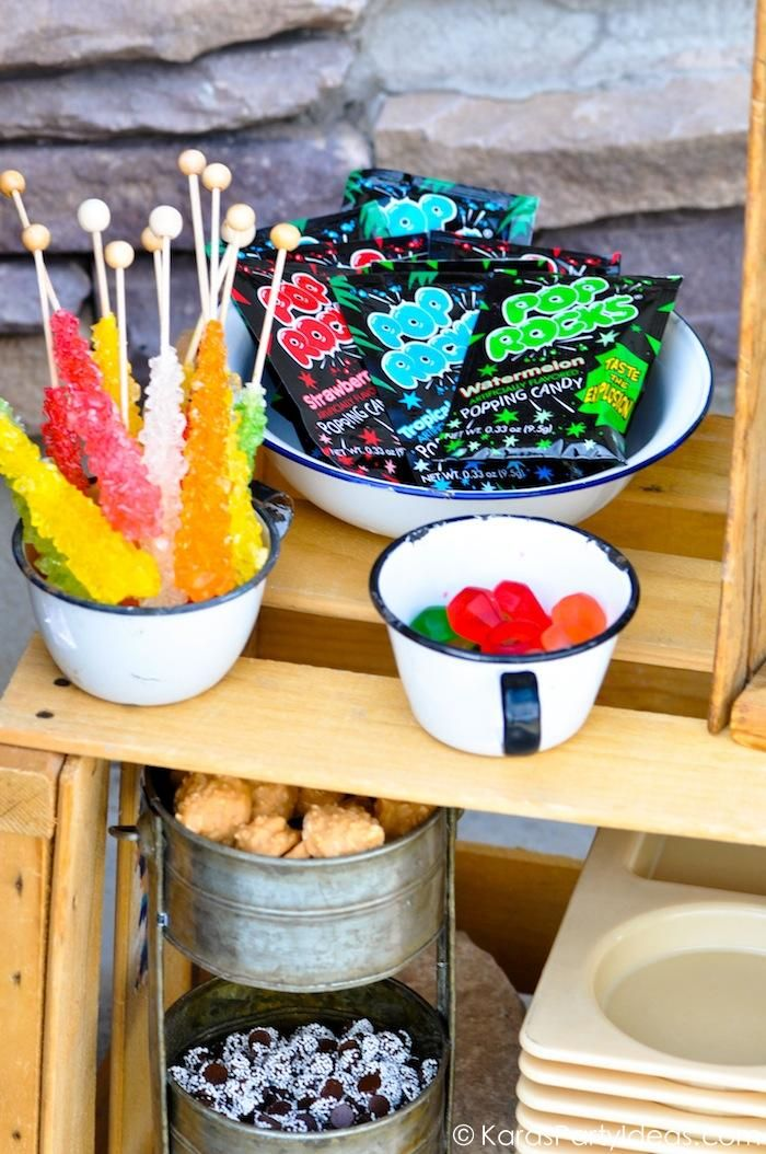 Geologist rock themed birthday party full of ideas via Kara's Party Ideas KarasPartyIdeas.com THE place for ALL things PARTY! (45)