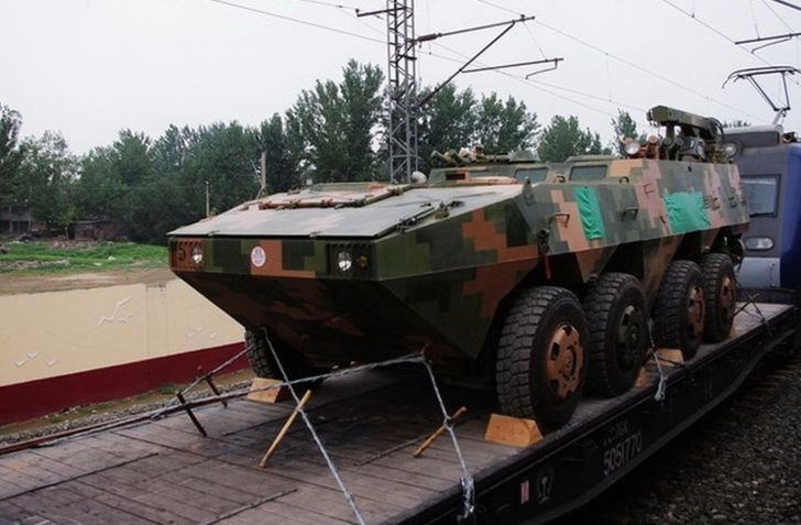ZHB-09 Ammunition Replenishment Vehicle
