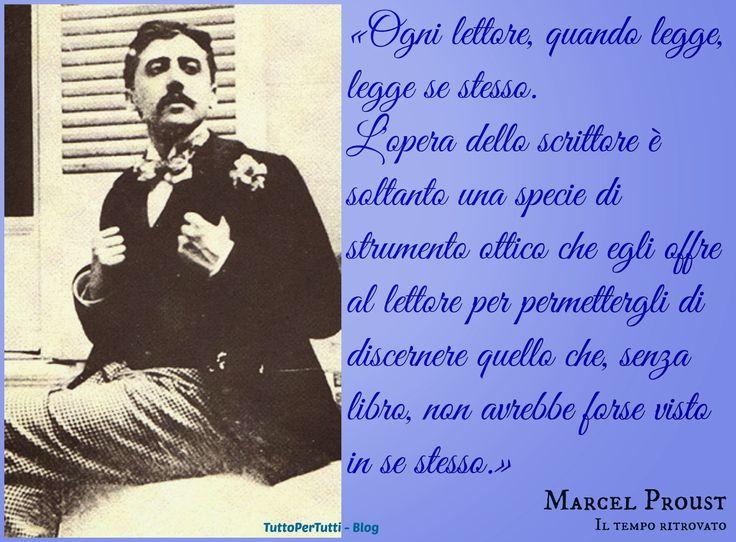 Tutto Per Tutti: VALENTIN LOUIS GEORGES EUGèNE MARCEL PROUST (Parigi, 10 luglio 1871 – Parigi, 18 novembre 1922)....per meditare...per riflettere...per pensare....