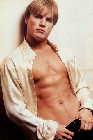 Gary Barlow (partially shirtless)