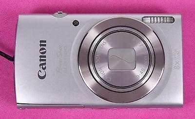 ** EXCELLENT ** Canon Powershot ELPH 180 20.0 MP Digital Camera - Silver