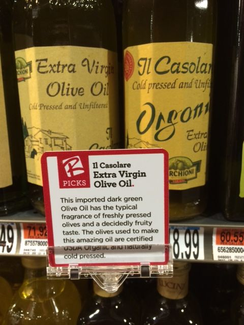 Casolare Oil at Roche Brothers