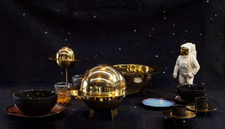 We all have that original but stylish friend, and the Cosmic Diner collection by Seletti is perfect for them.