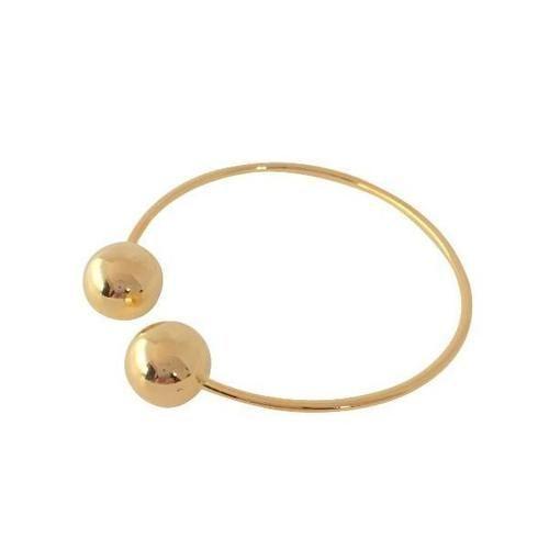 Double Ballin Bangle (Gold Plated Sterling)  www.minimalistjewellery.com.au    #minimalistjewelry #minimalistjewellery #minimalist #jewellery #jewelry  #jewelleries #jewelries #minimalistaccessories #bangles #bracelets #rings  #necklace #earrings #womensaccessories #accessories
