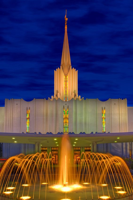 Riches in Heaven #LDS Jordan River Temple