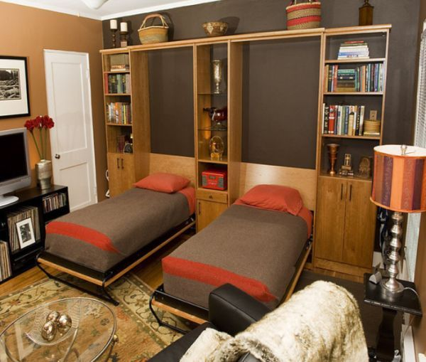 Fold down beds a huge space saving solution for all for Guest bed for small spaces