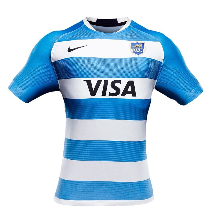 Argentina UAR Home Replica Rugby Jersey 16/17 by Nike