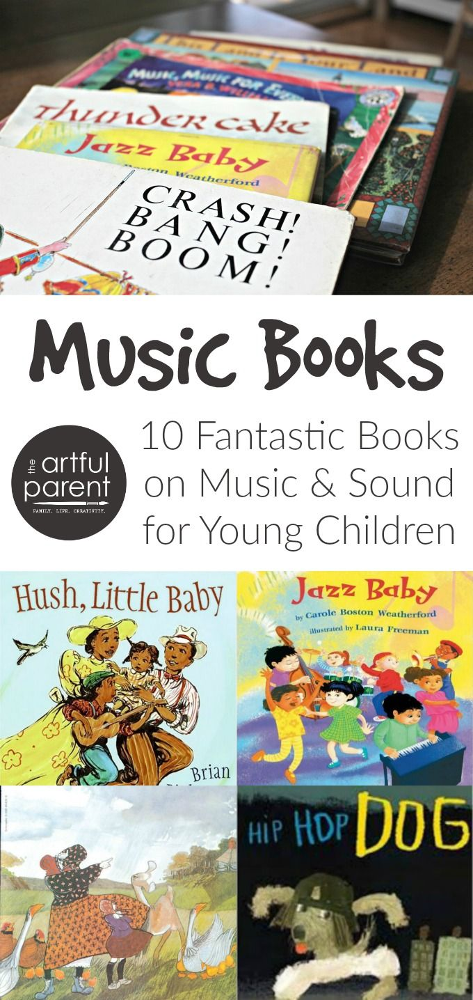 These 10 music books for young children are a fantastic exploration of sound and music, rhythm and rhyme. Make story time extra fun + learn about music!!