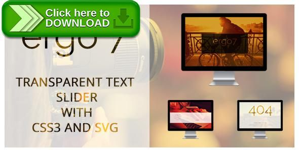 [ThemeForest]Free nulled download Transparent Text Slider, Contact Form, 404 Page, With CSS3 and SVG from http://zippyfile.download/f.php?id=55926 Tags: ecommerce, contact form, creative, css, css3, slider, svg mask, transparent text, video slider
