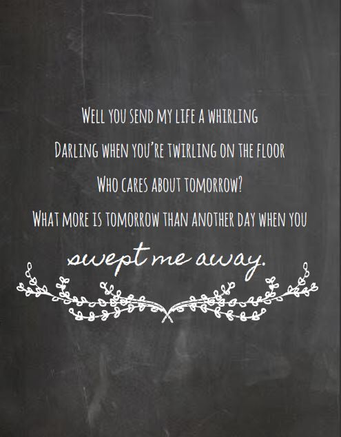 Avett Brothers  Swept Away Lyrics Print  Chalkboard Style Art Print, Lyrics  Poster By Part 89