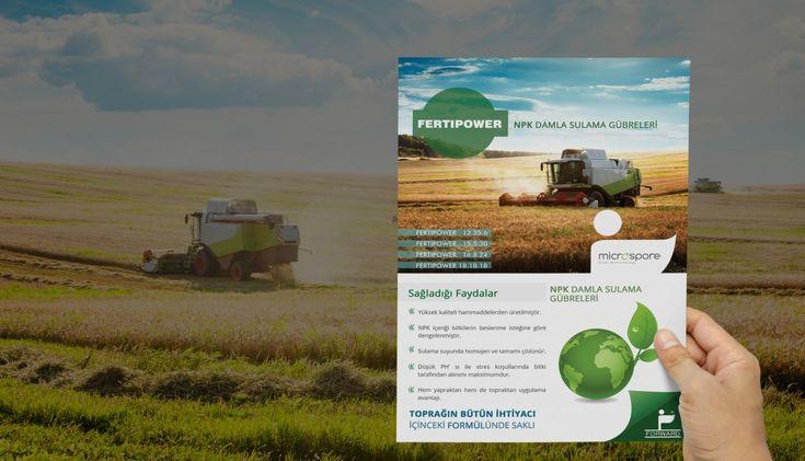Mersin, Broşür Çalışması Firma Adı: Forward Crop Protection Sektör: Tarım, Zirai İlaç