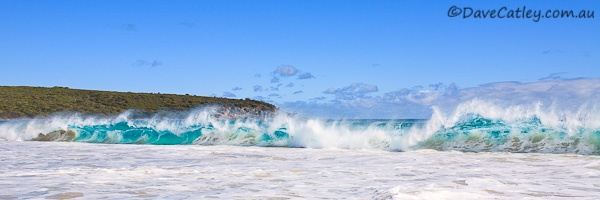 Rolling Waves in Bunker Bay Western Australia - Wish I was there right now:)