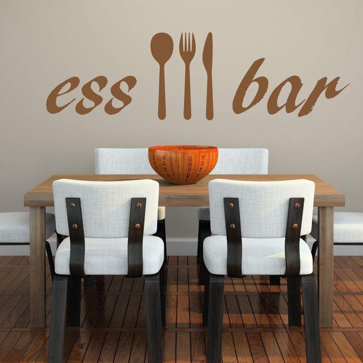 #Wandtattoo #Essbar für die #Küche jetzt exklusiv bei #WandtattooKiwi im Onlineshop erhältlich.