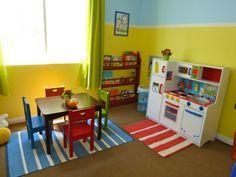 Cute Kinderzimmer streichen Beispiele in Rot Haben Sie gemerkt dass sich die Kinder in ihren ersten Lebensjahren von der roten Farbe angezogen f hlen Die meiste
