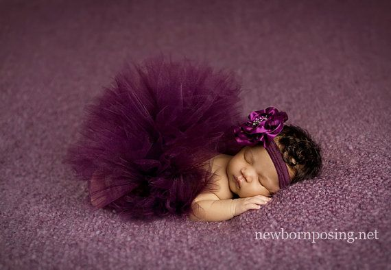 Blackberry Bliss Tutu Set by LiaAshley on Etsy, $38.95 I want for new born pics! I think it is a must have.